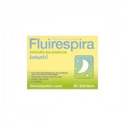 FLUIRESPIRA 6 PARCHES BALSAMICOS INFANTILES