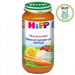 HIPP BIOLOGICO POTITO FIDEO MERLUZA TOMATE