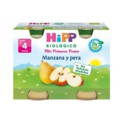 HIPP BIOLOGICO MANZANA PERA 2U