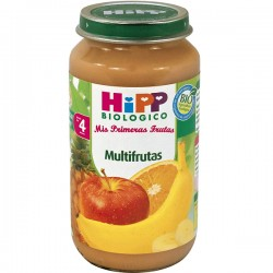 HIPP BIOLOGICO MULTIFRUTAS 250 G