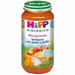 HIPP BIOLOGICO VERDURAS PASTA POLLO