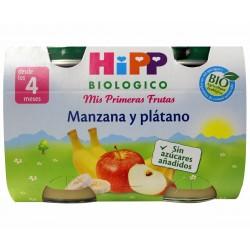 HIPP MANZANA PLATANO 2U