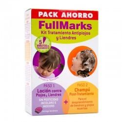 FULLMARKS ANTIPIOJOS Y LIENDRES CHAMPU + LOCION KIT 100+150 ML