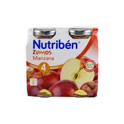 NUTRIBEN ZUMO MANZANA 2X130