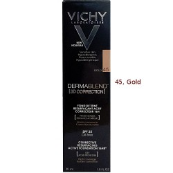 DERMABLEND 3D CORRECTION SPF 15 OIL FREE VICHY C TONO 45