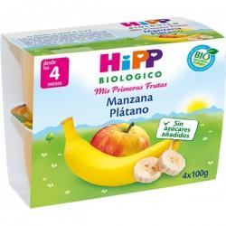 HIPP POTITO MANZANA Y PLATANO 4X100