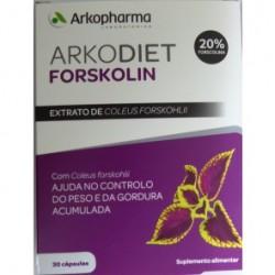 ARKODIET FORSKOLIN 30 CAP